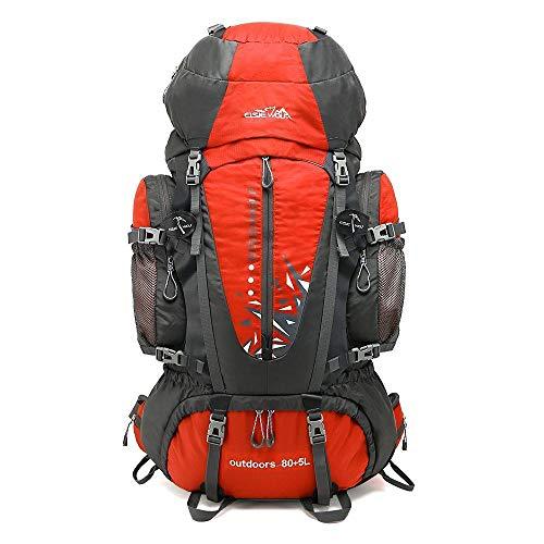 Zhongyi zaino 80l grande capacità professionale alpinismo borsa all'aperto sport zaino da trekking in nylon impermeabile