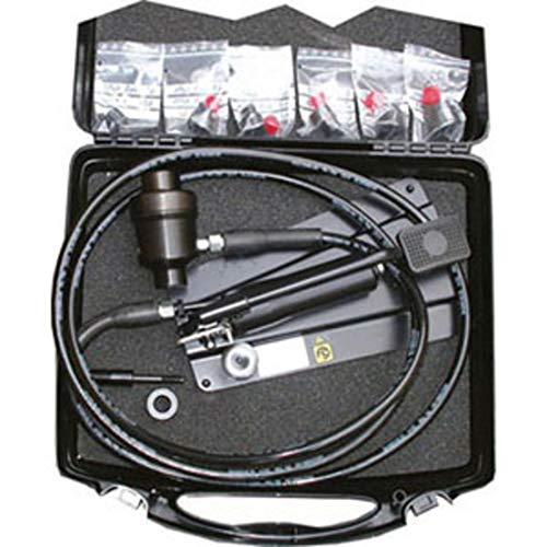 Baudat, PUNZONATRICHTUNG FÜR LAMPEN ASSORTIMENTO, STANDARD-Sortiment geeignet für Hydraulik-, Elektriker-, Sanitär-, Elektroanlagen, etc. im Koffer