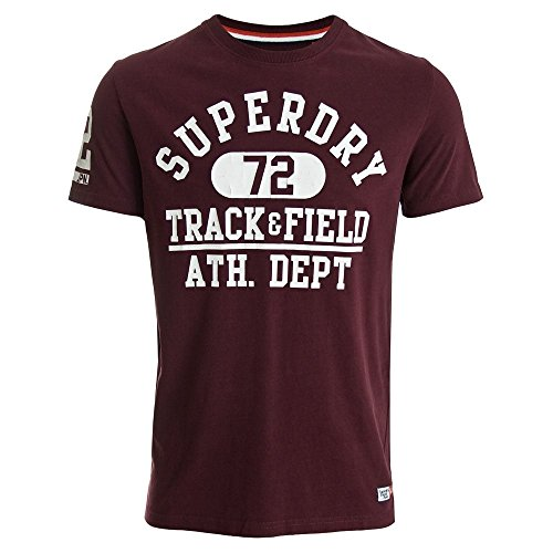 Superdry Trackster T-Shirt Fig Fig