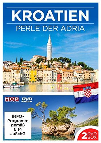 Kroatien - Perle der Adria - 2 DVDs mit je 45 Min. (DVD 1: Von Istrien bis Split & DVD 2: Von Makarska bis Duabrovnik)