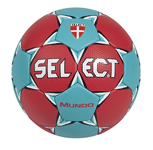 Select Mundo Handball Red Rot/Türkis Size:1