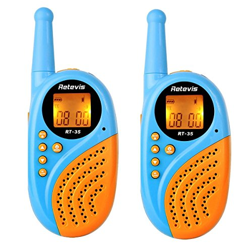 Retevis RT35 Funkgerät für Kinder 8 Kanäle USB Wiederaufladbar (1paar)