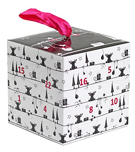 Briconti Make-Up Kosmetik Adventskalender, Cube