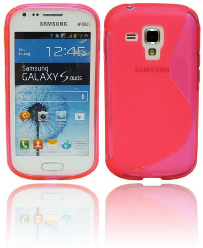S-LINE in TPU per Samsung Galaxy Trend Plus S7580 in silicone rosa @ Energmix