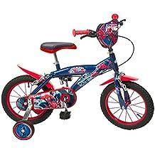 """Toimsa - 874 - Vélo pour Garçon - Spiderman - 14"""" de 4 à 6 ans"""