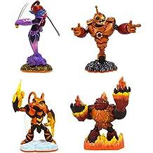 Skylanders Giants 4 Character Pack (Universal) - Hot Head, Swarm, Ninjini & Bouncer by Skylanders Giants