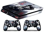 Skin Ps4 SLIM - THE WITCHER 3 - limited edition DECAL COVER Schutzhüllen Faceplates playstation 4 SONY BUNDLE
