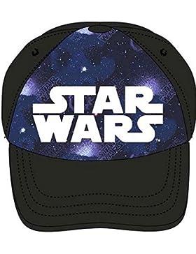 Star Wars Baseball Cap für Kinder, original Lizenzware, schwarz, Gr. 52 und 54