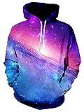 Bfustyle cool 3d Galaxy Outerspace Stampa Felpe con cappuccio personalizzati maglione felpa per le donne Man