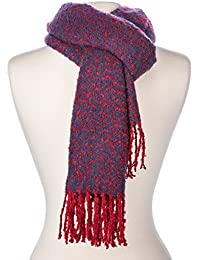 Noble Mount Mens Newport Two-Tone Winter Scarf
