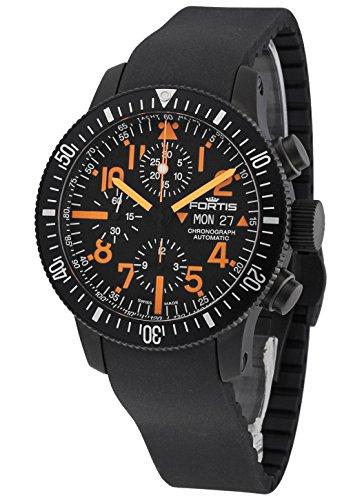 Fortis B-42 Black Mars 500 Chronograph Automatik 638.28.13 K