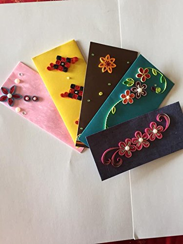 PPD Exclusive Designer Money Gift envelopes for Weddings, Marriages, Parties, Birthday gifts etc.  available at amazon for Rs.90