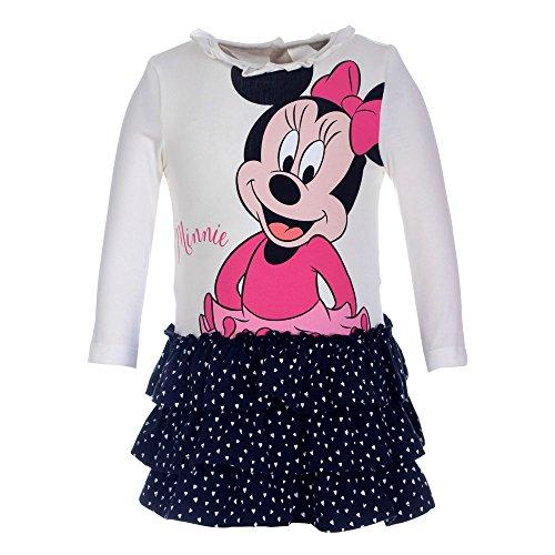 -Mädchen Kleid 71216, Elfenbein (Ecru 012), 80 (Minnie Kleid Für Kleinkinder)