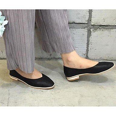 Confortevole ed elegante piatto scarpe donna Appartamenti Primavera Estate Autunno altri Casual in microfibra tacco piatto altri Bianco Nero Grigio a piedi di mandorla White