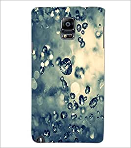 PrintDhaba Droplets D-2215 Back Case Cover for SAMSUNG GALAXY NOTE 3 (Multi-Coloured)