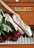 Ballett (Wandkalender 2019 DIN A4 hoch): Fotografien vom Ballett (Monatskalender, 14 Seiten ) (CALVENDO Kunst)