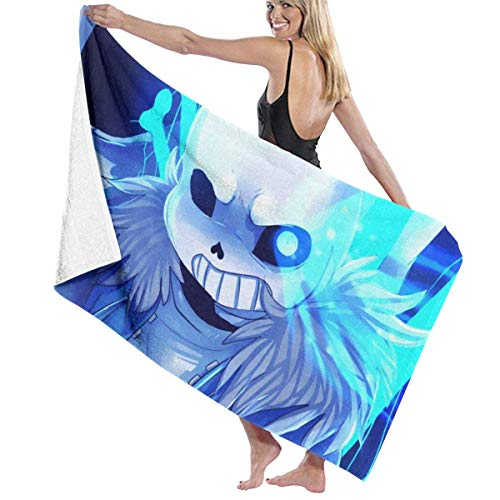 Bad & Body Works Body Wash (fjfjfdjk Sans Bad Time Adult Microfiber Beach Towel Oversized 31x51 Inch Fast Dry Highly Absorbent Multipurpose Use Pool Towel for Women Men)