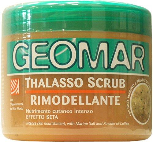 6 x GEOMAR Thalasso Scrub Rimodellante Effetto Seta 600 Grammi