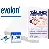 TAURO 26592 Original Evolon Allergiker Reiselaken, allergen und Milbenkotdicht, 180x260cm