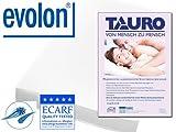 TAURO 26608 Schlafsack gegen Allergene und Milben | Anti Allergie Inlay für unterwegs | Schutz bei Hausstauballergie und Milbenallergie