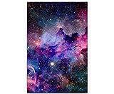 SIN-US 74 Nebel und Galaxien im Weltraum - Poster gerollt 90x60cm