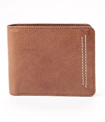 Walletsnbags Neo Stitch Tan Mens Leather Wallet