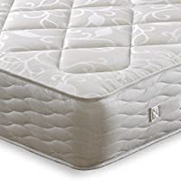 Cheap Beds Direct Pegasus - Colchón de algodón con muelles Dobles y firmeza, King Size