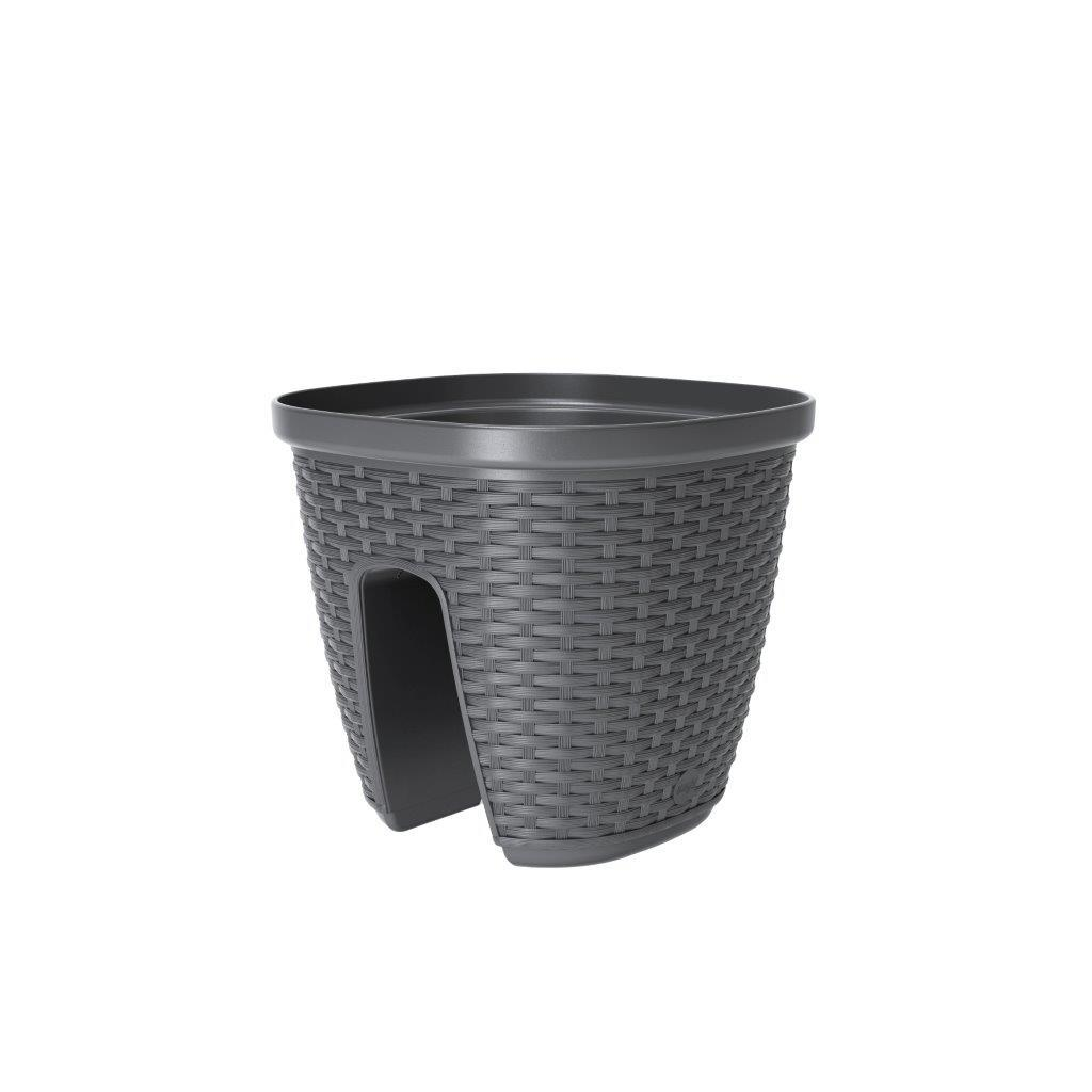 emsa 515013 gel ndertopf f r den balkon 9 liter. Black Bedroom Furniture Sets. Home Design Ideas