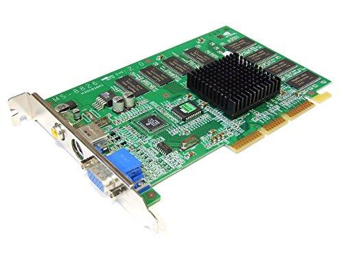 MSI Nvidia GeForce2 MX400 64MB VGA TV-Out AGP Graphics Card MX400 Pro-T MS-8826 (Generalüberholt) - Ati Radeon Hd 3450