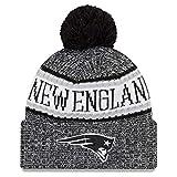 New Era NFL Sideline 2018 Bobble Mütze New England Patriots