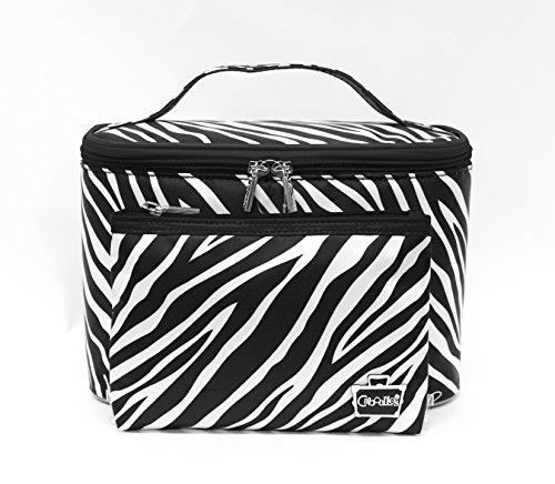 Caboodles Match Made in Heaven 2Stück Bag Set, Monaco/schwarz Diamant, 0,56Pfund (Cadet Bag)