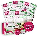 Combinazione: 20x Konjac Spaghetti 20x Konjac Noodles 10x Konjac Riso Rice, 200gr / sacchetto