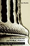 Foundations and Public Policy: The Mask of Pluralism (Suny Series in Radical Social a...