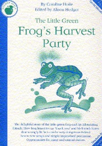 caroline-hoile-the-little-green-frogs-harvest-party-teachers-book-partitions-pour-piano-chant-et-gui