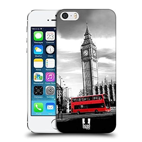 Head Case Designs Big Ben Tour De L'horloge Londres Meilleurs Endroits - Collection 2 Étui Coque D'Arrière Rigide Pour Apple iPhone 5 / 5s /
