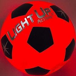 Light Up Action Light Up Soccer Ball - LED LIT - Traditional Soccer Ball Size 5