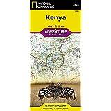 Kenya Travel Maps International Adventure Map