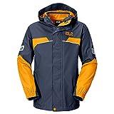 Jack Wolfskin Jungen 3in1-Jacke Boys Topaz Winter Jacket, Night Blue, 116, 1604701-1010116
