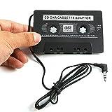 Magiyard Transmisores del adaptador de la cinta de casete del audio para el automóvil de 3.5mm AUX para iPod MP3