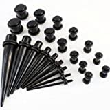 Cascove Full Kit Ear Taper Kit Ear Plug Set Taper Stretching Expanders Tapers Stretchers Bild