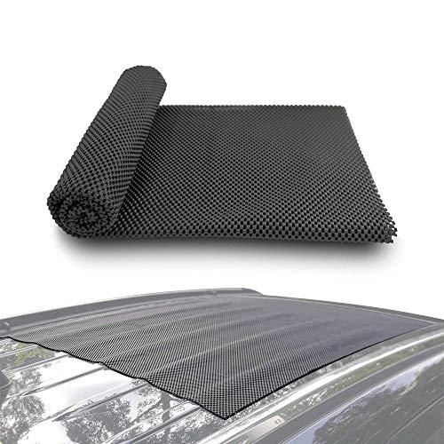 LARRY SHELL Autodachmatte Cargo Pad Schutzmatte Rack Pad Universal rutschfest Schützt vor Kratzern und Rissen, passt unter die Ladungsträger (Kajak-rack-falten)