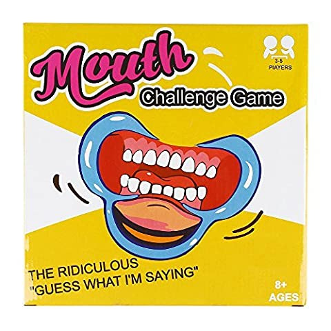 Speak Out Game SainSmart Jr. Mouth Opener for Phrase Speaking Card Game, 5 Pieces