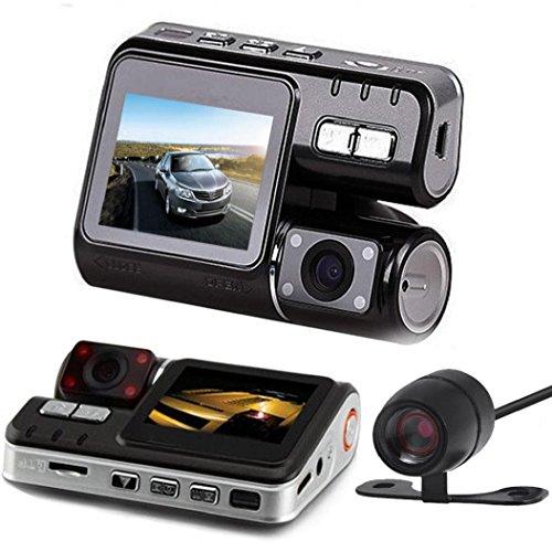 Koly HD DVR 170 ° rociada del coche registrador de la leva 1080p LED de visión nocturna + G-sensor de la cámara