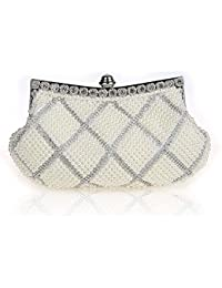 c8a913ec634ff Amazon.it  Con perline - Pochette e Clutch   Donna  Scarpe e borse