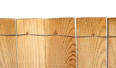 Beeteinfassung aus Holz als Beetzaun + Beetumrandung zwischen Rasenkante und Beet im Maß 250 x 30 cm für Ihren Garten von meingartenversand auf Du und dein Garten
