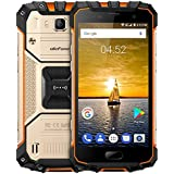 Ulefone Armor 2 - 5.0 Zoll FHD IP68 wasserdichtes 4G Android 7.0 Smartphone, Helio P25 Octa Kern 2.6GHz 6GB RAM 64GB ROM, 13MP + 16MP Kamera NFC GPS 4700mAh Batterie SCHNELLE CHARGE - Gold
