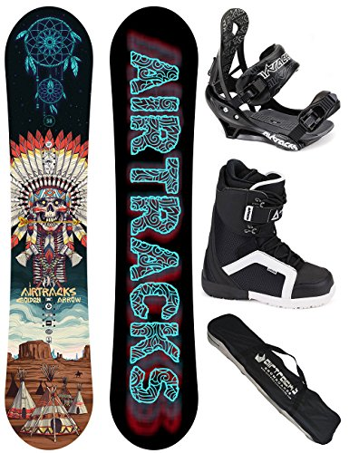 AIRTRACKS SNOWBOARD SET Golden Arrow