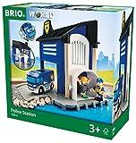 Brio GmbH BRIO World 33813 - Polizeistation mit Einsatzfahrzeug