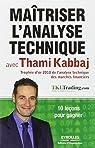 Maîtriser l'analyse technique avec Thami Kabbaj par Kabbaj