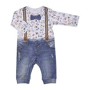 Kitikate Bebé niño - Body bebé con Pantalones - 3D Impresión - 100% Algodón 8